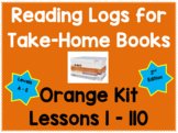 Reading Logs for Lessons 1-100 Orange LLI Kit (2nd Edition)