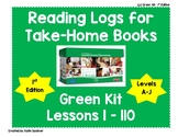 Reading Logs for Lessons 1-110 Green LLI Kit (original 1st Edition)