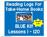 Reading Logs for Lessons 1-120 Blue LLI Kit
