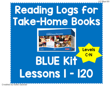 Reading Logs for Lessons 1-120 Blue LLI Kit