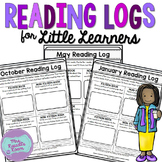 Reading Logs for Little Learners