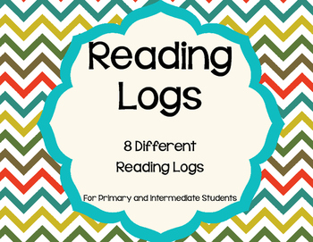 Reading Logs for Reading Workhshop