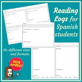 Reading Logs for Spanish Students