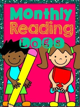 Reading Logs for each month of the year!  3 different styles!