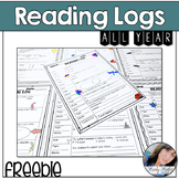 Reading Log and Response Sheets for  Daily Classwork or Homework
