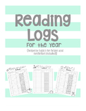 Reading Logs for the Year {with response topics}