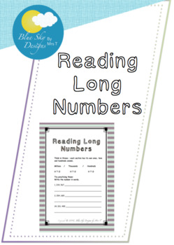 Reading Long Numbers