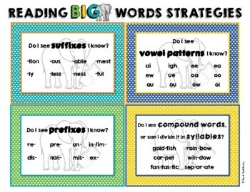 Reading Longer, Big Words: Strategies and Practice