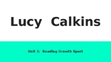 2nd Grade Lucy Calkins Reading: UNIT 1 Second-Grade Reading Growth Spurt Slides