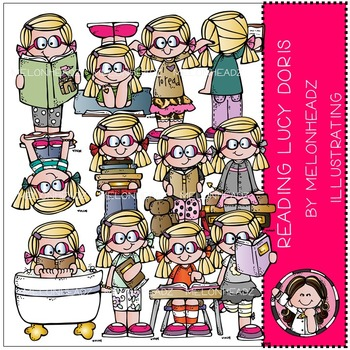 Reading Lucy Doris by Melonheadz COMBO PACK