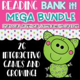 Reading MEGA BUNDLE Decoding Words Bank It Projectable Games