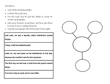 Reading Main Idea Interactive Notebook Pages