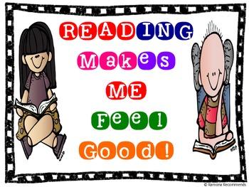 Reading Makes Me Feel Printable