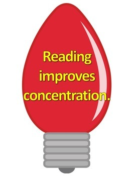 Reading Makes You Bright Bulletin Board