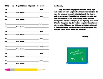 Reading Management Printables for the Primary Classroom