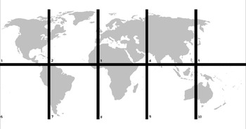 Reading Map Genre Activity