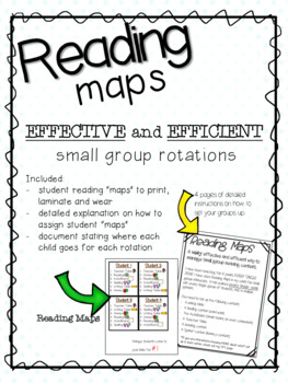 Reading Maps- Rotations for Small Group Instruction
