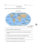 Reading Maps Worksheet