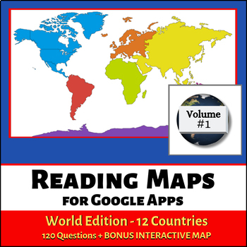 Reading Maps World Edition for Google Apps - Volume 1