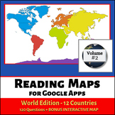 Reading Maps World Edition for Google Apps - Volume 2