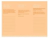 Editable Reading Marathon Student Pamphlet