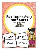 Reading Mastery 1: Flashcards Set 2- Lesson 21-40