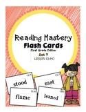 Reading Mastery 1: Flashcards Set 7- Lesson 121-140