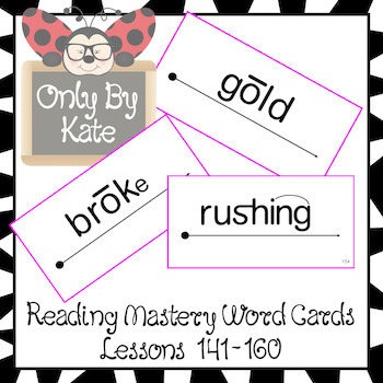Reading Mastery 1 Lessons 141-160, New and Updated