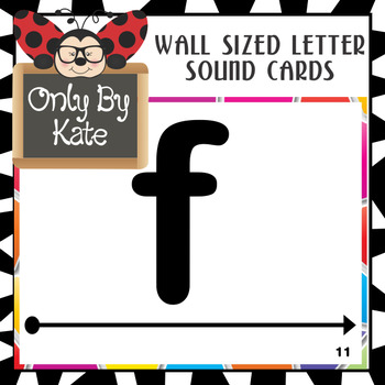 Reading Mastery 1 Wall Sized Letter Sound Set