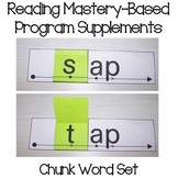 Reading Mastery-Based Word Chunk Cards