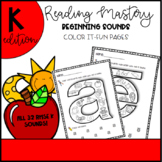 Reading Mastery Beginning Sound-Color it