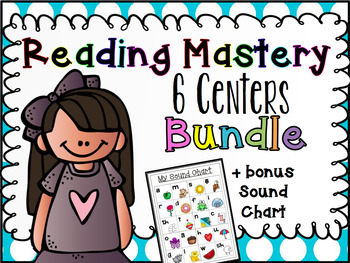 Sra reading mastery teaching resources teachers pay teachers reading mastery centers the whole year bundle fandeluxe Images