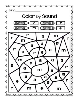 Reading Mastery Color by Sound