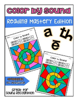 Reading Mastery Color by Sound ***FREEBIE