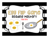 Reading Mastery-Egg Flip Game: Complete Set