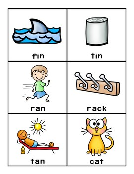 Reading Mastery (Picture) Sight Word Flash Card