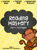 Reading Mastery: Fun Pages (Part 1)