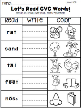 Reading Mastery: Fun Pages (Part 2)