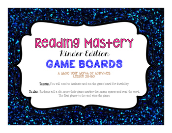 Sra reading mastery teaching resources teachers pay teachers reading mastery game board activities complete set fandeluxe Images