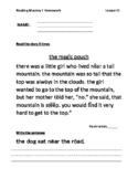 Reading Mastery Grade 1 Signature Edition Homework Lessons 51-100