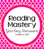 Reading Mastery Homework: Yearlong Bundle