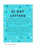 Reading Mastery K DI Dot Letter Mats