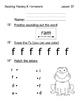 Reading Mastery K Signature Homework Lessons 21-40