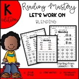 Reading Mastery K-Let's Work on Blending The COMPLETE Set