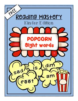 Reading Mastery Popcorn Sight Words ***FREE***