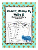 Reading Mastery- Read it, Stamp it, Write it *Full Set
