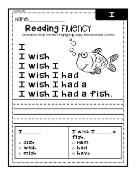 Reading Mastery Reading Fluency Sentences ***FREE***