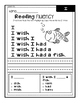 Reading Mastery Reading Fluency Sentences ***FREE***