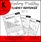 Reading Mastery Reading Fluency Sentences L109-129 (Set 2)