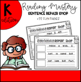Reading Mastery Sentence Repair Shop